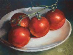 "Daily Paintworks - ""Salsarific"" - Original Fine Art for Sale - © Pamela Hamilton Painting Still Life, Still Life Art, Hamilton, Fruits And Veggies, Vegetables, Gallery Website, Hyperrealism, Kitchen Art, Fine Art Gallery"