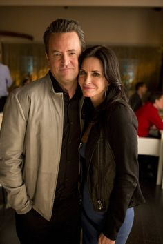 Matthew Perry and Courteney Cox, reunite for an episode of GoOn.