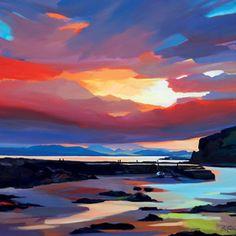 'Island Sundown' by Pam Carter (H136) (NEW)