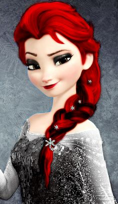 This is Sofia. She is 12 years old. Her birthday is May (Adopted by Christine (Rp: Melody) Higgs (Rp: Frost)) Goth Disney Princesses, Disney Princess Memes, Disney Princess Tattoo, Disney Princess Frozen, Disney Princess Drawings, Punk Princess, Disney Princess Pictures, Red Hair Princess Anime, Emo Disney