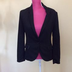 Cartonnier black blazer Time less Cartonnier black jacket. Single button front. Two fake flap front pockets. Notched collar. Like new Cartonnier Jackets & Coats Blazers