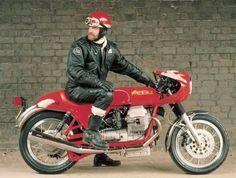 Black Leather Biker Jacket, leatherlunged:   What a biker should look like….