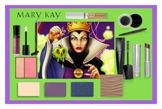 Evil Queen Mary Kay Color by taylormarie213 on Polyvore featuring polyvore, beauty and Mary Kay