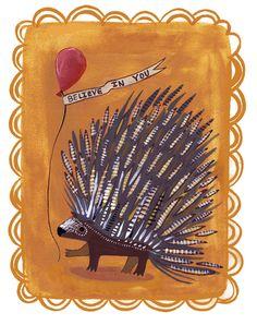 Kaitlyn McCane Illustration: Porcupine