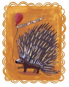 Kaitlyn McCane Illustration: Porcupine