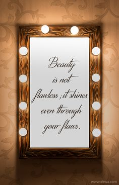 """""""Beauty Is Not Flawless, It Shines Even Through Your Flaws""""  #WestPalmBeach #Loxahatchee #PlasticSurgery"""