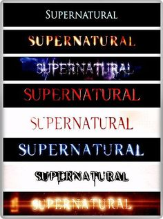Supernatural love on pinterest supernatural castiel and - Supernatural season 8 title card ...
