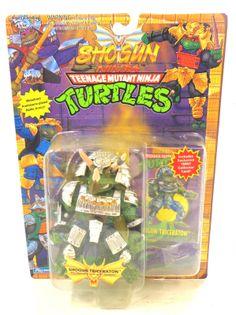 TMNT Teenage Mutant Ninja Turtles SHOGUN Shogun Triceraton PURPLE SEALED MOC