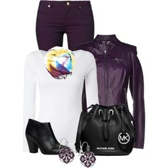 """""""Grape Bubble Gum"""" by penny-martin on Polyvore"""