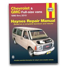 Details About Haynes 24081 Repair Manual Chevrolet Express Gmc