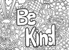coloring pages acts of kindness - free printable certificate to recognize kindness printables pinterest free printable