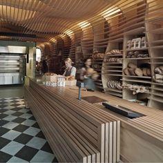 Baker D. Chirico, l'interior design di una panetteria australiana