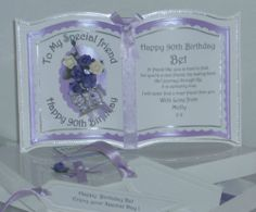 Handmade Luxury Bookatrix Friend Birthday Card | eBay