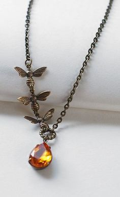 Bees: #Bee Necklace.