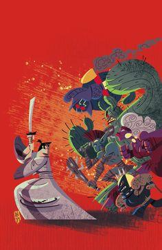 Samurai Jack comics, issue 1 Andy Suriano, Jim Zub