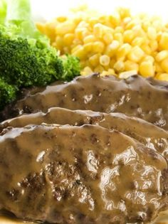 Salisbury Steak with Delicious Homemade Gravy