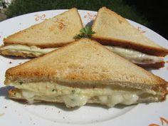 Los fogones de Ana Sevilla: Sandwich de pollo