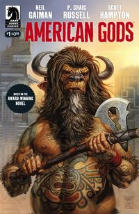 American Gods Gets the Comic Book Treatment  Neil Gaimans novel American Gods is based on the idea that where believers exist their gods also exist. Immigrants to the United States bring versions of their gods with them. As long as believers hold their faith the gods flourish.  The more believers in one place and the stronger their belief the bigger and more powerful a deity. When a belief system breaks down the forgotten gods lose their power and eventually disappear. Old gods are…