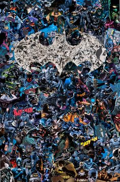 Batman's Collage by Mr. Garcin