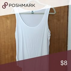0861f30b1c1d6 Old Navy Blue Tank Top Has been worn Size Large Tank top Textured ...