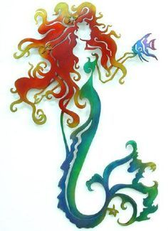 Or I would get this as a tattoo for my emma because she thinks she's a mermaid