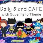 This package contains everything you need for using Daily 5 and CAFE in your classroom, with a Superhero theme!