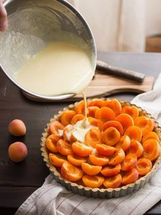 The Bojon Gourmet: Apricot Crème Fraîche Tart with Honey and Pistachios