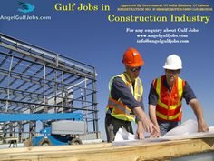#GulfJobs in #ConstructionIndustry #Careers #Jobs #AngelGulfJobs #Mason (Plaster & Bricks) #Tiles Mason (Wall & Floor) #Mason (All Rounder) #Tiles & #MarbleMason Construction industry is a very huge industry throughout the Gulf region. There is tremendous demand from industrial, commercial and the residential sector. Oil & gas, power plants, heavy engineering, automotive, hospitality industry & so on are being setup throughout the Gulf.