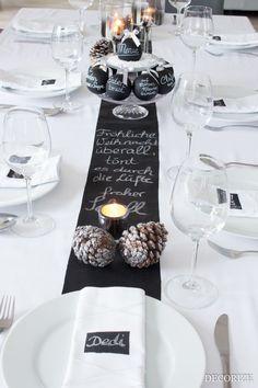 Eine Festtafel mit Tafelfarbe repinned by www.landfrauenverband-wh.de #landfrauen #landfrauenverband #landfrauenwüho