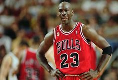 Chicago Bulls Michael Jordan stands during a break at the end of an NBA Basketbale SuperSonics in Seattle. A Bismarck, N.D., man who used to own McDonald's restaurants is about $10,000 richer after selling a 20-year-old container of McJordan barbecue sauce Monday, Oct. 15, 2012, to a buyer in Chicago. The sauce was used on McJordan Burgers, named for basketball icon in limited markets for a short time in the 1990s, when Jordan led t