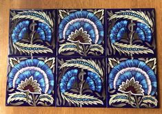 Arts and Crafts Tiles: William Morris, William De Morgan Tile, Victorian and Medieval Tiles Victorian Tiles, Victorian Art, Early American, American Art, Victorian Nursery, Tile Steps, Red Houses, Feature Tiles, Book Of Hours