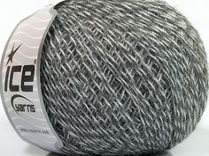 Fiber Content 35% Merino Wool 25% Alpaca 20% Viscose 20% Acrylic Brand ICE Grey Shades fnt2-40317