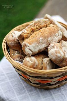 homemade and baked Food-Blog: Leckere Frühstücksbrötchen mit Übernachtgare