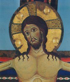 Alberto Sotio - Croce di Spoleto, dettaglio - 1187 - Spoleto, Cattedrale di S. Maria Assunta.