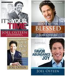 Love books by Joel Osteen http://www.joelosteen.com/pages/store-books.aspx