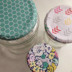 leftover scrap paper lids