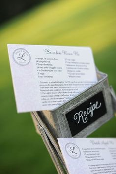 Thoughtful wedding favors!