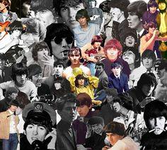 George Harrison collage