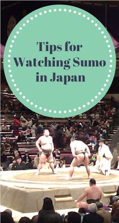 Tips and tricks for having a good experience when attending a grand sumo tournament in Tokyo, Japan.  When and how to book tickets, where to sit and more.