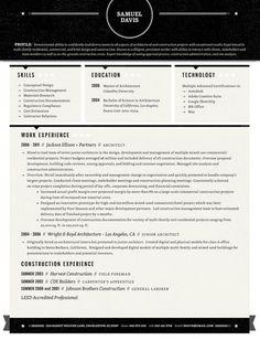 #Resume #Design -