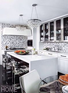 Arbeitsplatte Schiefer Marmor Kombinieren Einrichtungsideen Pflege Tipps # Küche #kitchen | Wohnideen Küche | Pinterest