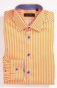 Sand Trim Fit Dress Shirt available at Nordstrom