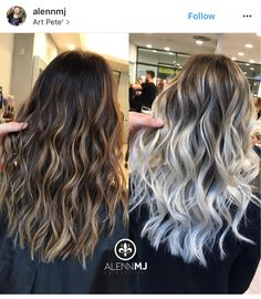 This is exactly what I want Brown Blonde Hair, White Blonde, Blonde Wig, Blonde Brunette, Gray Hair, Pinterest Hair, Silky Hair, Hair Highlights, Color Highlights