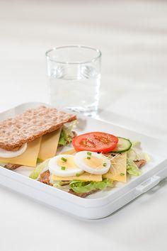 Handig, deze crackers in de lunchbox Take a Break flat!