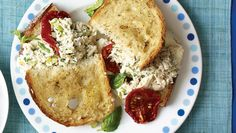 This upgraded diner favorite pairs tangy-sweet sun-dried tomatoes and fresh basil with melty mozzarella and tuna, all sandwiched between two slices of lightly crunchy country bread.