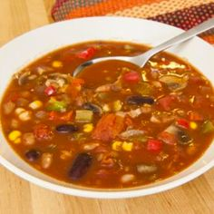 A very yummy recipe.. Chicken Chili Soup Recipe from Grandmothers Kitchen.