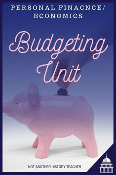 This is a complete 9 + day budgeting unit for your high school personal finance or economics class.  Budgeting is such an important skill for students to have before they leave high school!  Help your students improve their finance and money skills this year. #NotAnotherHistoryTeacher #finance #budget #socialstudies