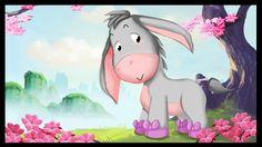 """Mon âne La comptine """" Mon âne"""" pour les enfants."""