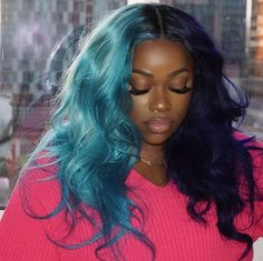 Best Human Hair Extensions Sewins for Black Women!Do you guys like this gorgeous hairstyles? Frontal Hairstyles, Sleek Hairstyles, Weave Hairstyles, Pretty Hairstyles, Straight Hairstyles, Flat Twist, Split Dyed Hair, Best Human Hair Extensions, Curly Hair Styles
