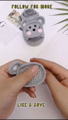 Crochet Baby Boots, Crochet Baby Sandals, Booties Crochet, Crochet Baby Clothes, Baby Booties, Baby Shoes, Knitted Baby, Crochet Blanket Patterns, Baby Knitting Patterns